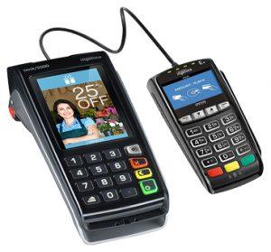 Lecteur CB Desk 5000 et pinpad IPP 315